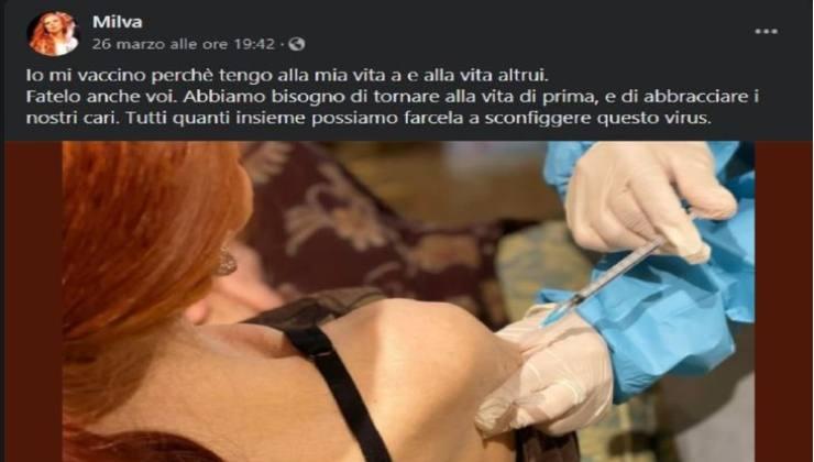 Milva vaccino -political24