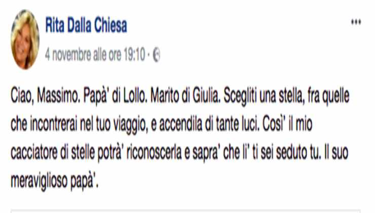 Rita Dalla Chiesa - Political24