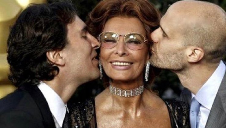 Carlo Ponti jr Sophia Loren