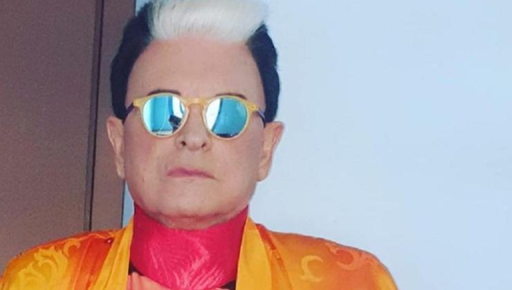 Cristiano Malgioglio perché indossa sempre gli occhiali - Political24