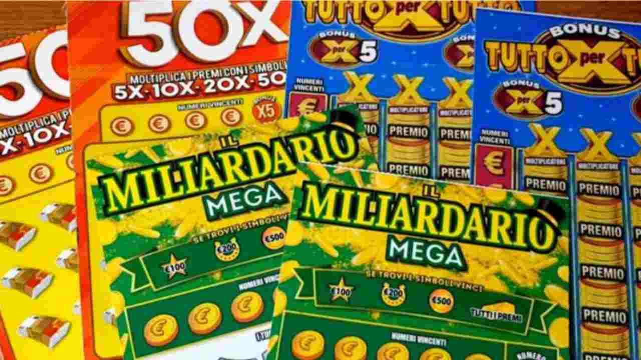 Gratta e vinci compra due biglietti milionari tutto finisce a rotoli - Political24