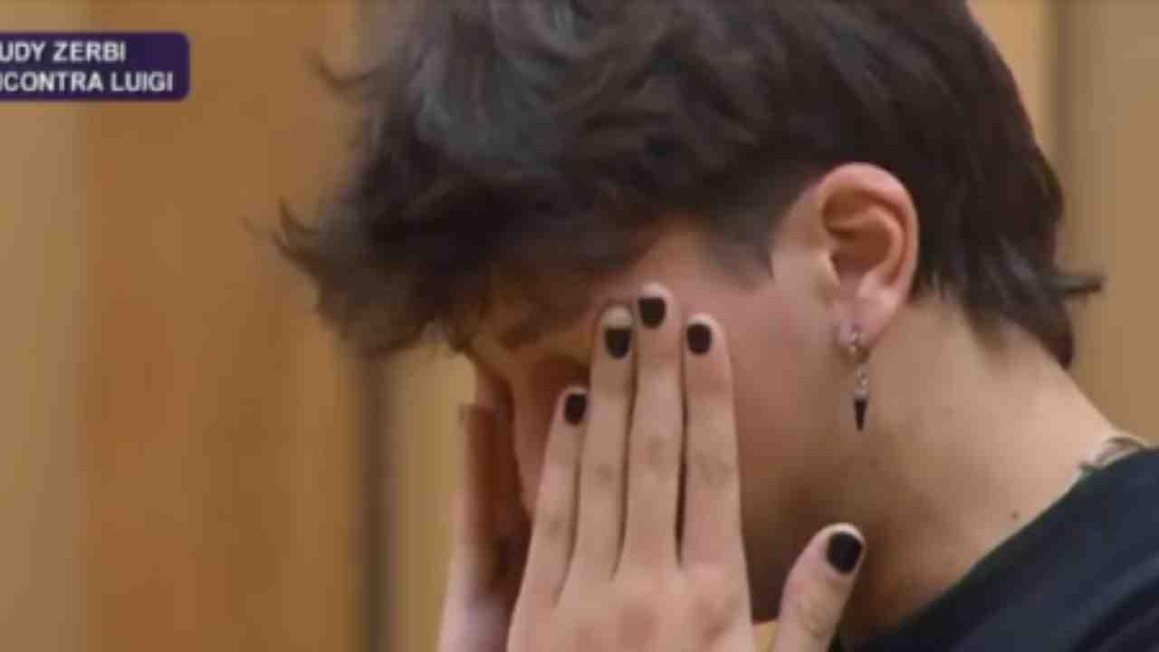 Luigi Strangis in lacrime Political24
